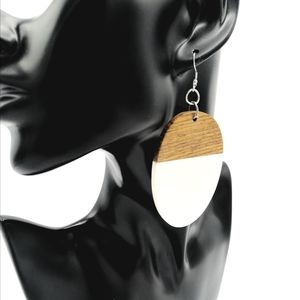 """Lunar"" Contemporary Style Earrings"